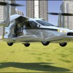車が空を飛ぶ時代がもうすぐ来るよと言ったら笑われました!