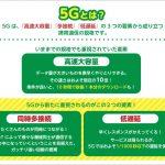 次世代移動通信 5G 2019年開始